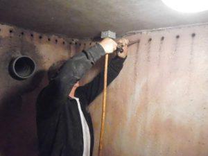 Kelder waterdicht maken bel voor vochtanalyse